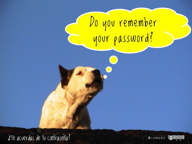 Do you remember your password?